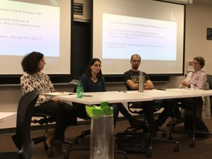 Our Science Panelists discussed their experiences working with the media